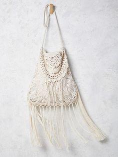 Free People Desert Crochet Bag