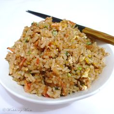 Let's get Wokking!: Garlic Fried Rice   Singapore Food Blog on easy recipes
