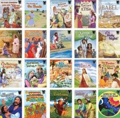 Children's Bible Stories Complete Set of 134 Books