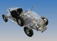 2CV based kitcars have chassis, engine and gearbox, front and rear axles…