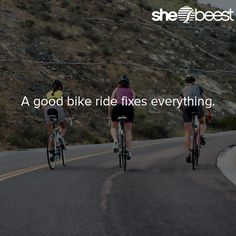 A good bike ride fixes everything