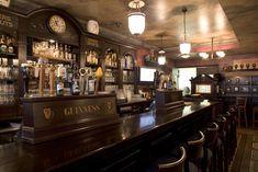 Interiors of Irish Pubs | Bar Area - Interior at Kilkennys Irish Pub & Eatery