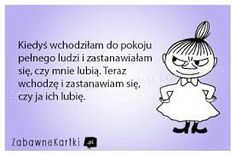 """Via """"Zabawę Kartki"""" Quotes And Notes, Me Quotes, Weekend Humor, Man Humor, Deep Thoughts, Self Improvement, Motto, Picture Quotes, Sentences"""