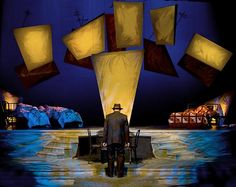 Death of a Salesman. Universith Theatre. SJSU. Scenic design by David Tousley. 2008