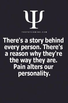 Yup, there is a reason for my pain as well! Yup, there is a reason for my pain as well! Psychology Fun Facts, Psychology Says, Psychology Quotes, Abnormal Psychology, Forensic Psychology, True Quotes, Motivational Quotes, Inspirational Quotes, Faith Quotes