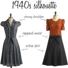 Vintage Wardrobe Basics: Part 2