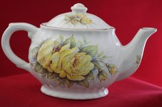 Vintage Royal Caldone Teapot  English Teapot by TeaAttheBrits,