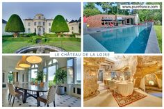 Luxury château with river views, 15 min from Saumur, sleeps 14. www.purefrance.com/37003