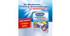 Gratisproben – Dr.Beckmann Farb- und Schmutzfängertücher