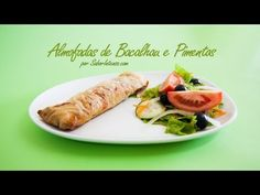 Receita de Almofadas de Bacalhau e Pimentos - YouTube