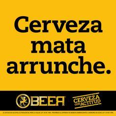 Cerveza mata arrunche