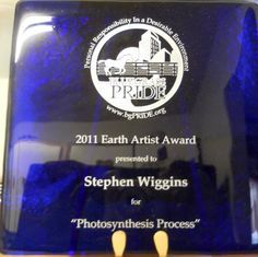 My 2011 Earth Artist award from Bluegrass Pride
