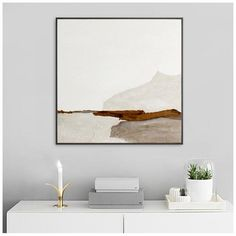 Abstract Canvas Art, Oil Painting On Canvas, Acrylic Art, Beautiful Paintings, Your Paintings, Art Scandinave, Mountain Art, Living Room Paint, Art Moderne