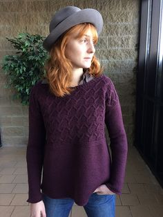 Ravelry: Liberty Wool Pullover pattern by Tian Foley