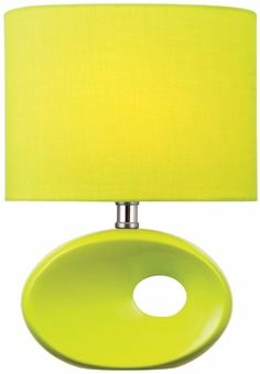 Lite Source Hennessy II Ceramic Table Lamp Light Green Finish Home Decor #LiteSource