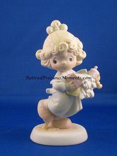 $42.50 - Lord, Help Me Stick To My Job - Precious Moment Figurine