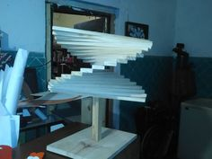 aqui caben muchas brochetas que rico Stairs, Home Decor, Skewers, Artworks, Stairway, Decoration Home, Staircases, Room Decor, Stairways