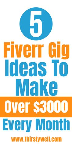 Are you looking to make money from Fiverr then this article is for you as you will learn about 5 gigs ideas in which you can make over $3000 per month. Read more in the article.    #fiverrgigsideas  #fiverrideasmakemoney  #fiverrideas Online Income, Online Earning, Earn Money Online, Ways To Earn Money, Way To Make Money, How To Make, Excellence Quotes, Invoice Design, Work From Home Jobs