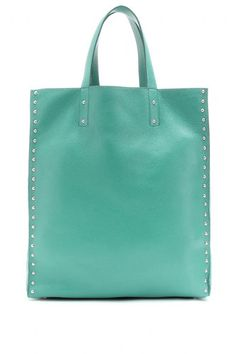 Jil Sander Studded Leather Shopper...I am a TOTAL sucker for a great tote!