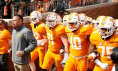 """The stalling of the Tennessee Volunteers rebuild = When Butch Jones was introduced as Tennessee Volunteers head coach in December 2012, he used actual bricks to give tangible representation to the rebuilding process. His """"brick-by-brick"""" mantra invoked allusions of....."""