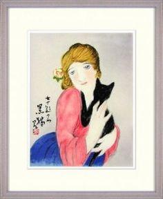 竹久夢二黒猫  竹久夢二は明治末から昭和初期にかけて活躍一世を風靡した詩画人です 大正の歌麿とも言われているようにその作品には市井のくらしに根付いた喜びや悲しみが表わされ一世紀に近い時を経た今も人々の心を魅了します美人画はもちろん 子供画や晩年は日本の山河を多く主題としました しなやかな女性の美しさを感じる作品黒猫は猫を抱く女性のミステリアスさも表現しているように感じます  竹久夢二黒猫 http://ift.tt/2gwaGo9   スマイルアートギャラリーは 世界の名画絵画油絵水彩画風水画工芸陶芸仏像仏画など美術品を紹介しております スマイルアートギャラリーTOPページ http://3016.jp/art/   日本最大級のインターネットアートギャラリーを目指しております ご出店などについてはこちらから http://ift.tt/203MWXF   Facebookでも作品を紹介中 http://ift.tt/1swFUQX   Googleでも作品を紹介中 http://ift.tt/203MRD5   #芸術 #アート…