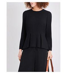 CEFINN Long Sleeve Peplum Top. #cefinn #cloth #tops