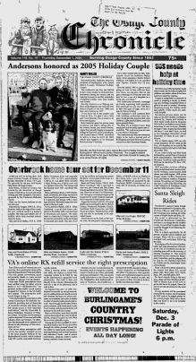 OSAGE COUNTY - Burlingame, Kansas - 2005-2007 - The Osage County Chronicle - Google News Archive Search