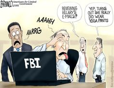 Hillary FBI files contain much more than just classified information. Cartoon by A.F.Branco ©2015.