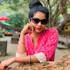 Beautiful Saree, India Beauty, Cat Eye Sunglasses, Beauty Women, Actresses, Braid, Long Hair, Indian, Fashion