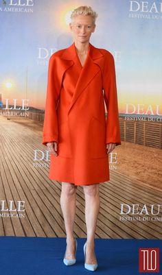 Tilda Swinton at the Snowpiercer Deauville Photocall | Tom & Lorenzo Fabulous & Opinionated