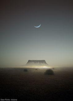 Plateau BY Karezoid Michal Karcz - Ayers Rock - Australia Beautiful Moon, Beautiful World, Beautiful Places, Ayers Rock Australia, All Nature, Land Art, Belle Photo, The Great Outdoors, Wonders Of The World