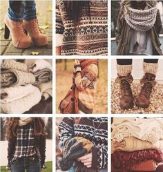 Autumn fashion - i do quite like all of this actually
