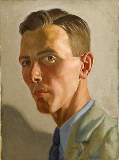 Raymond Sheppard, Self-Portrait (c. 1930) - somanyhumanbeings