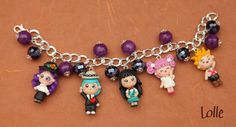 Fimo Paradise Kiss by LolleBijoux on DeviantArt Polymer Clay Creations, Polymer Clay Art, Paradise Kiss, Cute Charms, Art Club, Clay Jewelry, Jewellery, Cute Art, Chibi