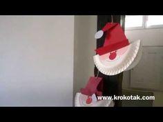 krokotak | Make a Santa Paper Plate