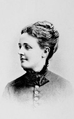 """Sarah Orne Jewett, author of """"The Country of the Pointed Firs,"""" one of my favorite books."""