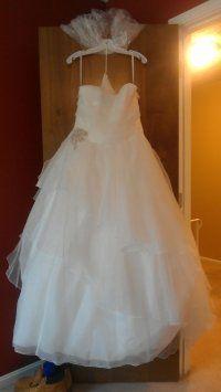 David's Bridal J9869 Wedding Dress $450