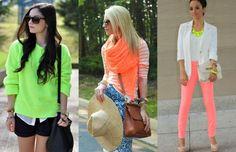 outfits neon para mujer - Buscar con Google
