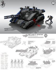 helldiver concept sheet main anti material tank transport