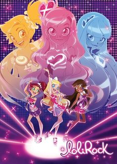 Lolirock: my new infatuation! lol  New episodes can't come fast enough!