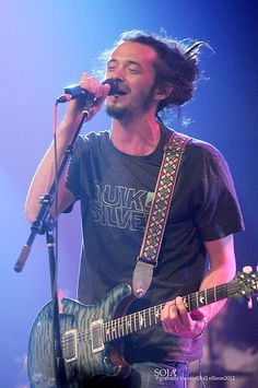 Call me crazy, maybe it's his voice, his songs..I don't know, but something about him is just sexy. SOJA <3