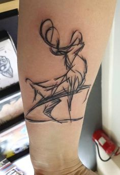 Stag Tattoo Scottish Tattoo