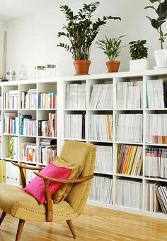 I need these shelves for my office.... Ikea Billy Bookcase, Modern Bookcase, White Bookshelves, Ikea Shelves, Expedit Bookcase, Wide Bookcase, Kallax Shelf, White Shelves, Home Living Room