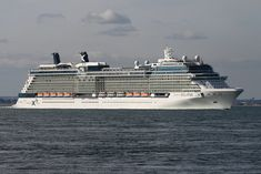 "Celebrity X Cruises  Cruise Ship  CELEBRITY ECLIPSE  Heading in to the Solent off of Cowes Isle of Wight.  Vessel's Details  Ship Type: Passenger  Length x Breadth: 317 m X 48 m  Speed recorded (Max / Average): 22.8 / 21.6 knots  Flag: Malta [MT]   Call Sign: Fill Your Autoresponder Everytime with the ""Full Meal Deal"""