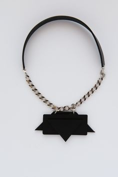 BERTHE leather collar
