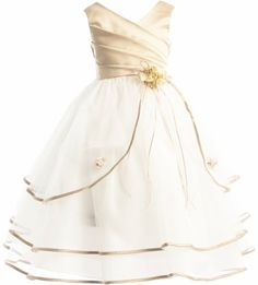 3-Tiered Organza Satin Pageant Flower Girl Party Dress - Gold Champagne 2 Dempsey Marie http://www.amazon.com/dp/B00I57F4EM/ref=cm_sw_r_pi_dp_fSb4ub0TN5Q5X