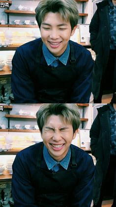 olive haired- namjoon was truly a blessing| ☾ Pinterest ~ @mymy1754 ☾