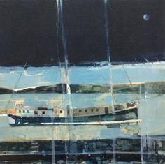 Sailing on The Baltic, Sweden 17.1.14 by Julian Sutherland-Beatson | Artfinder