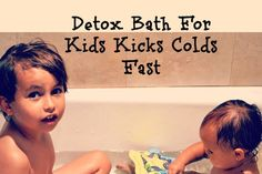 If you want to be prepared for a new flu season, then I have an amazing tip for you:How To Kick Colds Fast With A Detox Bath. After several years of learning about natural remedies, a good detox b…