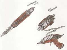 Yautja weapons project by cm023